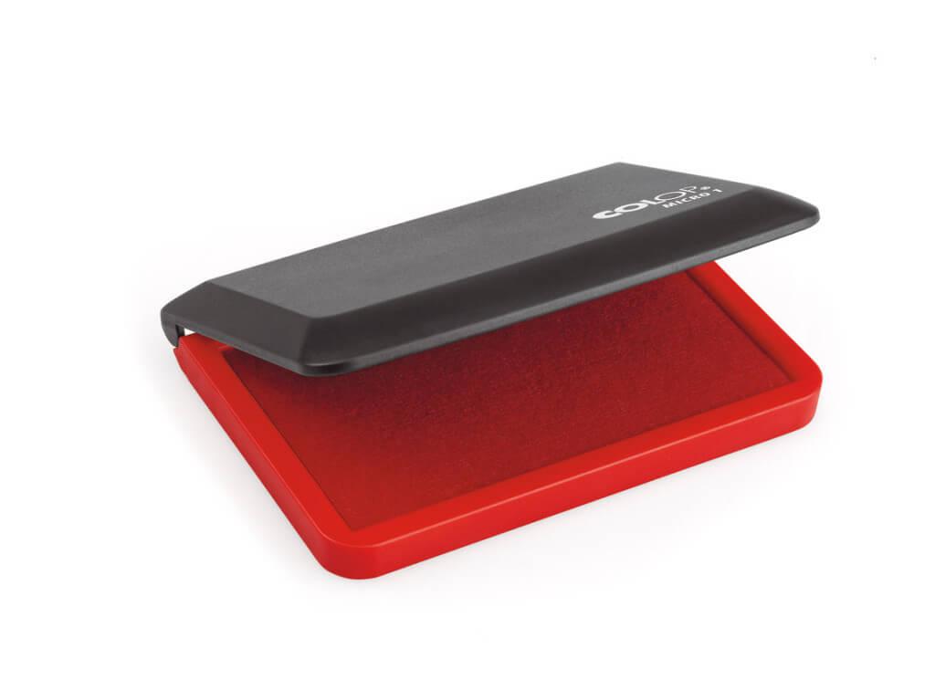 Штемпельная подушка 90х50 красная