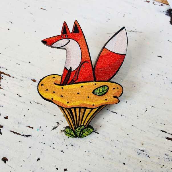 Лисичка на лисичке